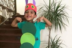 100 of the best World Book Day costume ideas - The Very Hungry Caterpillar costume – 100 World Book Day costume ideas – Netmums - Kids Book Character Costumes, Children's Book Characters, Book Character Day, Book Costumes, World Book Day Costumes, Teacher Costumes, Book Week Costume, Storybook Characters, Easy Costumes