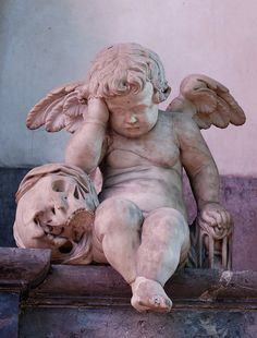 The crying angel