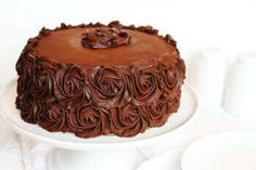 It occurred to me that there are three things I have not done. Updated the Best Chocolate Cake recipe. Shared the perfect Chocolate Buttercream recipe. Made a Chocolate Rose Cake. Well, I will remedy those three issues all in one post! Cake Recipes At Home, Best Cake Recipes, Sweet Recipes, Köstliche Desserts, Chocolate Desserts, Dessert Recipes, Cake Chocolate, Chocolate Coffee, Perfect Chocolate Cake
