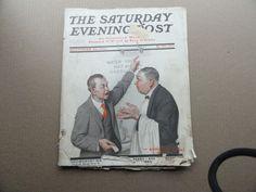Saturday Evening Post Magazine November 20 1920 Complete