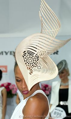 Fashion hat on the Australian Racecourse