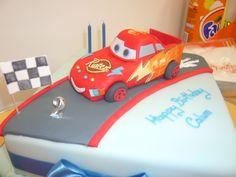 Cars boys Birthday Cake