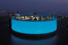 Tower Club at lebua, Bangkok Luxury Hotel rooftop bar