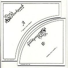 Drunkard's path quilt block