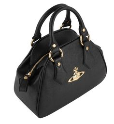 Handbags | Vivienne Westwood Divina Small Bag - Black | @ KJ Beckett - Check Out The Collection Today!!