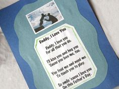 Father Day Crafts For Toddlers - Bing Images mothers day fathers day, grandparents day at school, mothers day doodles Daddy Poems, Fathers Day Poems, Easy Fathers Day Craft, Daycare Crafts, Toddler Crafts, Preschool Crafts, Crafts For Kids, Daycare Ideas, Summer Crafts