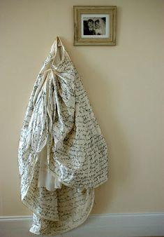 Wedding Dress Wedding Dress Detail UK textile installation artist, Cathryn Kemp, explores narratives around female identity and rites . Artistic Installation, Contemporary Embroidery, Textile Artists, Wearable Art, Fiber Art, Making Ideas, Fashion Art, Wedding Dresses, Wedding Vows