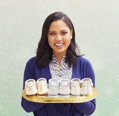 Ayesha Curry + Freshly Picked Holiday Collection featuring Geo Rose, Holographic, and Glitz & Glam. #moccasins