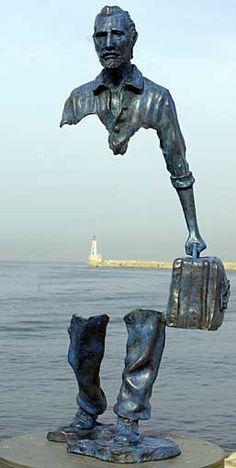 ".French Sculptor Bruno Catalano (1960- ) ""Le Grand Van Gogh"""