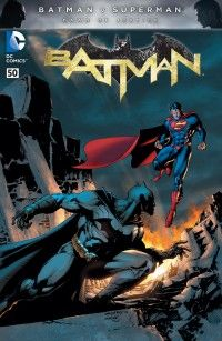 Batman 50 full color variant by Chris Daughtry and Jim Lee