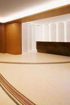 Hôtel Maison FL 's renovation by François Champsaur - Entrance floor and reception desk