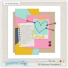 Template freebie from Scrapping with Liz