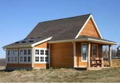 Free Mini Pole-Barn Plans (Use the little Candlewood Pole Barn as your shed, garage, tractor shelter, hobby shop or backyard studio.)
