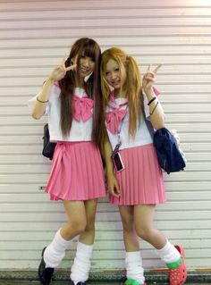 perfect ..love the uniforms -------- #japan #japanese #harajuku