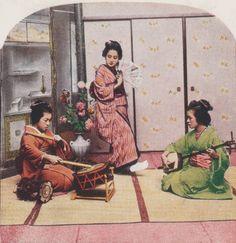 Le Japon de 1900 dans de nouvelles photos 3D en couleur | DozoDomo