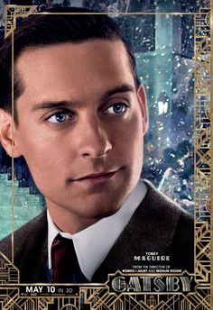 The eyes! It's all about their eyes! There's a new set of character posters for Warner Bros' adaptation of The Great Gatsby, directed by Baz Luhrmann, that The Great Gatsby Characters, The Great Gatsby Movie, Great Movies, New Movies, Awesome Movies, Iconic Movies, Latest Movies, Jay Gatsby, Gatsby Style