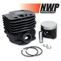 NWP Piston & Cylinder Assembly (50mm) for Husqvarna 362, 365, 371, 372, Jonsered 2071, 2171 . $89.99. Replacement cylinder assembly from NWP. Cylinder assembly includes a piston, rings, piston pin, circlips and cylinder. Gaskets are sold separately. This cylinder assembly is NiSi coated for long life. The piston is Moly coated and comes with ductile iron piston rings. We recommend using a piston ring clamp set when changing cylinders.Fits the following chainsaws:Hu...