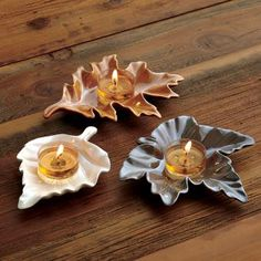Woodland Retreat Tealight Candle Holder Trio by PartyLite® Candles