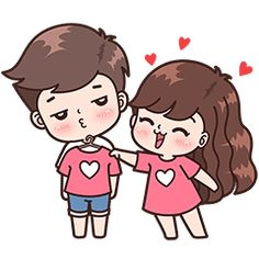 Boobib lovely couple 3 (Indo) - Stiker LINE Cute Chibi Couple, Love Cartoon Couple, Cute Love Cartoons, Anime Love Couple, Cute Anime Couples, Cute Love Pictures, Cute Cartoon Pictures, Cute Love Gif, Cute Couple Drawings