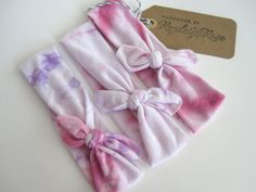 Tie Dye Baby Girl Headband/ baby girl/ baby by ryeleighrose, $8.00