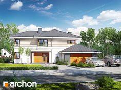 Willa Weronika 3 (P) Mansions Homes, Design Case, Big Houses, Plan Design, Home Fashion, Modern House Design, Traditional House, Exterior Design, Planer