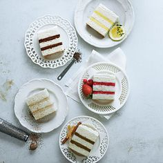 Ready to dress up your wintry white cake? Layer it with these five festive fillings!