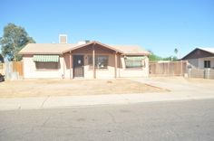 Photo for 1942 N Avenue, Phoenix, AZ 85035 - listing Bank Owned Properties, Property Search, Investors, Fixer Upper, Phoenix, Arizona, Shed, Real Estate, Outdoor Structures