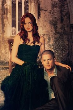 Sara Tancredi & Michael Scofield in Prison Break. Michael Scofield, Prison Break Quotes, Prison Break 3, Movie Couples, Cute Couples, Rockmond Dunbar, Fernanda Young, Sara Tancredi, Sons Of Anarchy