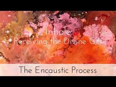 The Encaustic Process: noula in her studio - Encaustic Art Exhibition - YouTube