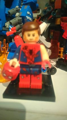 Spiderman lego herido Spiderman Lego, Legos, Birthday Candles, Cake, Desserts, Food, Tailgate Desserts, Lego, Deserts