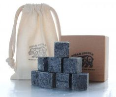 CANADIAN WHISKEY STONES - The Perfect Holiday Gift by PolarStones for $20.00