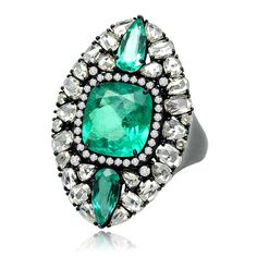 The Emerald Collection Ring by Sutra Jewels