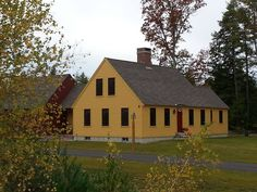 Colonial Cape in Chester, New Hampshire