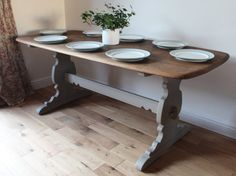 Vintage Ercol Dining Table / Large table / by SuzieValentineAllan