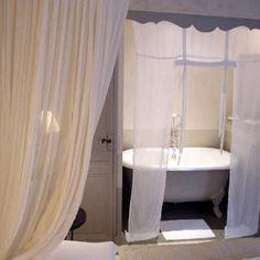 Love the curtains idea