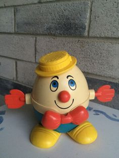Fisher Price Humpty Dumpty Humpty Dumpty Pull Toy by LauraTrev1