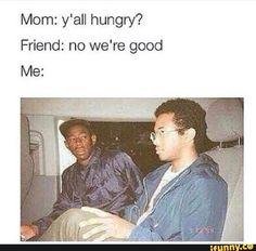 Never turn down free food