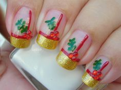 christmas beauties | Νύχια: Christmas Nail Art | beautynote