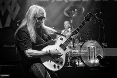 Mick Box of Uriah Heep performs on stage at Koko on March 4, 2014 in London, United Kingdom.