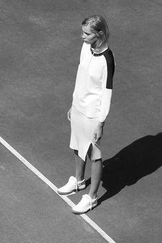 Copenhagen fashion week // #tennis court?