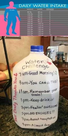 health and fitness healthy food weight loss gym workout Water challenge. If you are trying to lose weight, drink lots of water. It also speeds up your metabolism rate! Motivation Regime, Daily Motivation, Weight Loss Motivation, Health Motivation, Summer Body Motivation, Summer Body Goals, Motivation Wall, Quick Weight Loss Tips, Losing Weight Tips