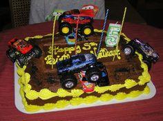 Big Truck Birthday Cakes | FordFE.com Gallery: OT: My son's Monster Truck birthday cake
