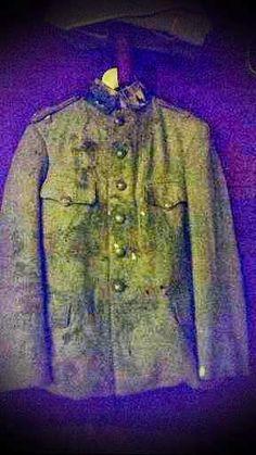 57. ALAY Komutanımız Hüseyin Avni Bey'in şehit olduğunda üzerindeki üniforması