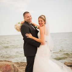 it's #weddingwednesday which means our latest real wedding is up on the blog! If you haven't checked it out yet head on over to the website { http://ift.tt/1Qmqxyn } to read all about Lauren and Billy's special day #ccbl #ccblct #weddingplanner #ctweddingplanner #shorelinewedding #ctshoreline   : @ajoyousmomentphoto   : McKenna's Flower Shop