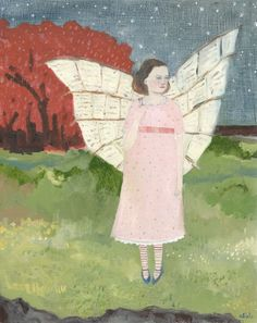 she wrote poems to the stars and crafted them into wings - amanda blake