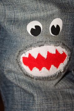 Gerettetes Hosenbein / Saved trouser leg Upcycling