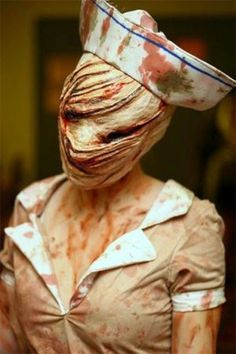 silent hill nurse costume Halloween Masks