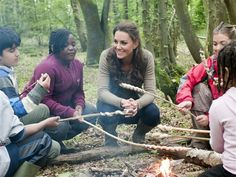 """Duchess Kate Middleton even looks cute while camping. Well, """"camping"""", at least."""