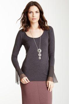 Heather Bell Sleeve Top on HauteLook
