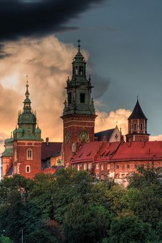 Wawel, Krakow, Poland I will surely go back here for a visit! Beautiful Palace!:)